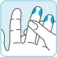 clean finger image